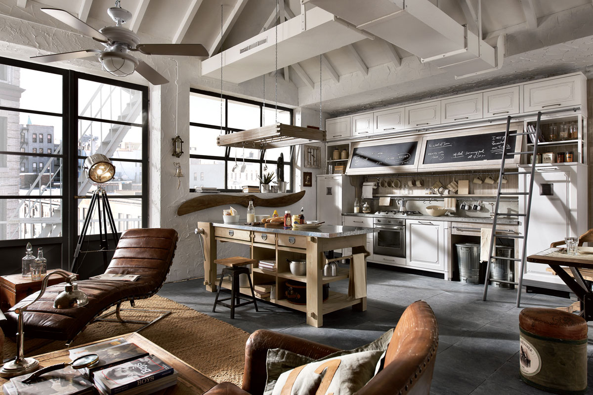 vintage-styl-kuchyn